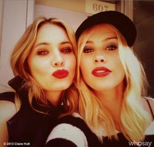 Claire Holt and The Originals Ladies Behind the Scenes For Nylon