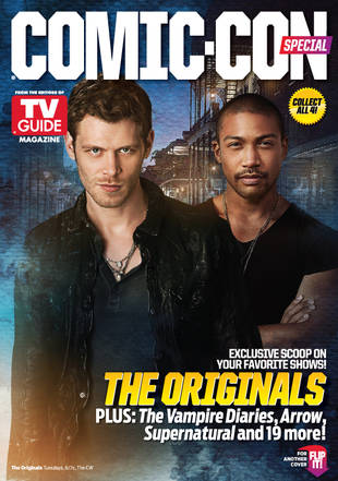 The Vampire Diaries and The Originals Cover TV Guide For Comic-Con