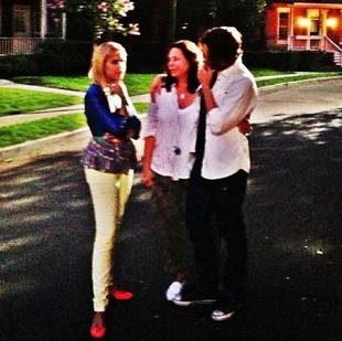 Pretty Little Liars' Ashley Benson and Tyler Black Film Finale Scene (PHOTO)