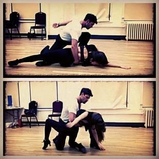 Maks Chmerkovskiy and Karina Smirnoff Get Sexy During Forever Tango Rehearsals! (PHOTOS)