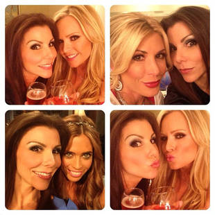 Behind-the-Scenes of the Real Housewives of OC Season 8 Reunion: Champs and Selfies!