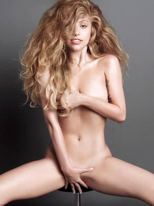 Lady Gaga Gets Completely Naked for V Magazine (NSFW PHOTO)
