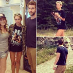 Miley Cyrus and Liam Hemsworth Hike, Pose With Fan in Canada (PHOTOS)