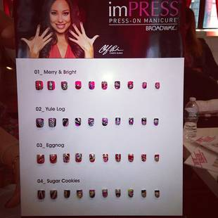 Cheryl Burke Debuts New Manicure Line — Check Out Her Holiday Styles! (PHOTO)