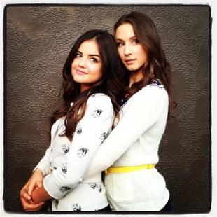 Pretty Little Liars Season 4: Spencer and Aria Prom Photo!