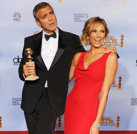 George Clooney Hit on Eva Longoria While He Was Dating Stacy Keibler? (UPDATE)