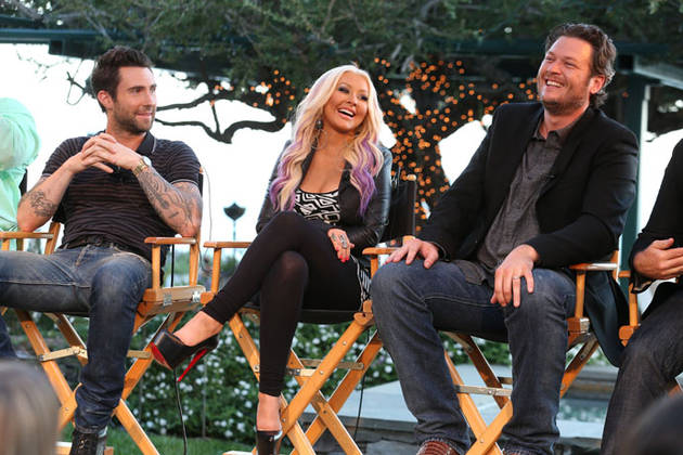 Christina Aguilera, Adam Levine, and Blake Shelton Receive 2013 Teen Choice Award Nominations