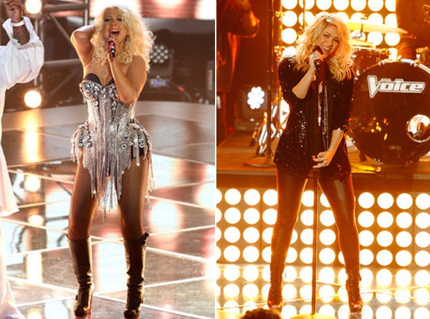 "Christina Aguilera Talks Voice Hiatus: ""Thank God For Shakira"""
