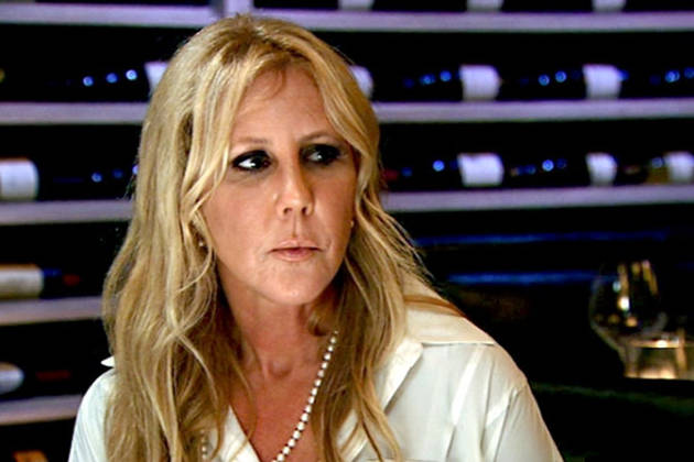 Vicki Gunvalson Confronts Lauri Peterson About Threesome Rumors