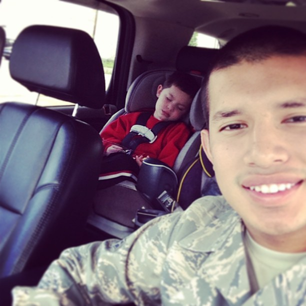 Javi Marroquin Goes on Shopping Spree For Isaac! (PHOTO)