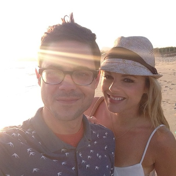 Ali Fedotowsky and Kevin Manno Celebrate WHAT on Romantic Getaway?