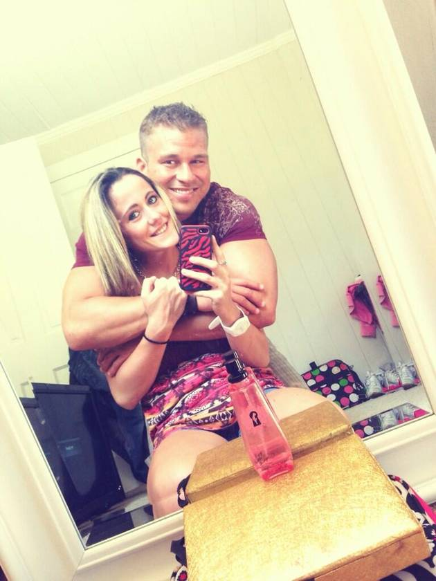Nathan Griffith Won't Let Fans Take Photos of Jenelle Evans!