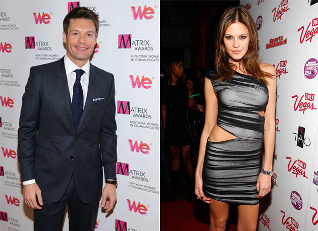Ryan Seacrest and Dominique Piek Vacation Together in France