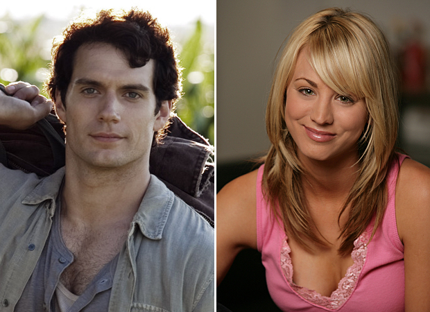 Man of Steel's Henry Cavill Is Dating Big Bang Theory's Kaley Cuoco!