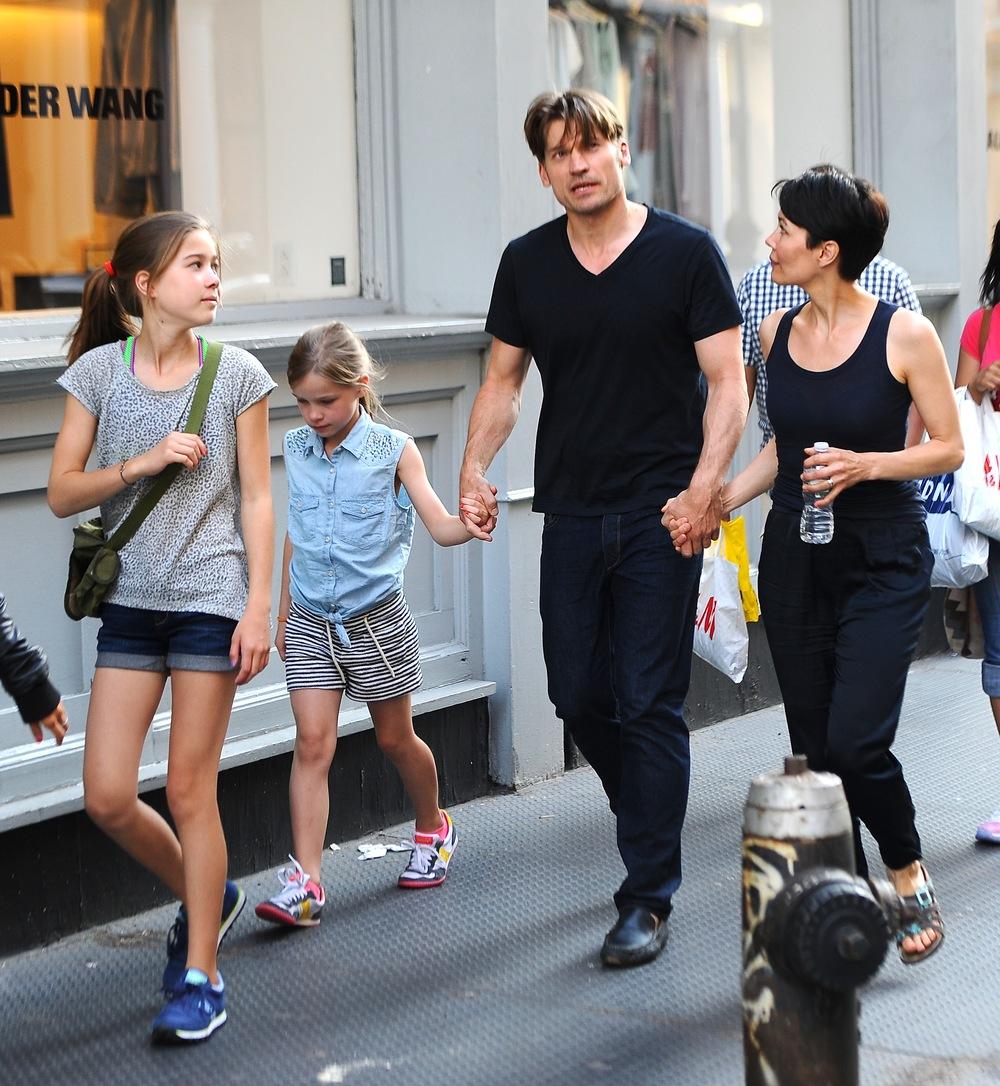 Game of Thrones' Nikolaj Coster-Waldau With His Kids ...