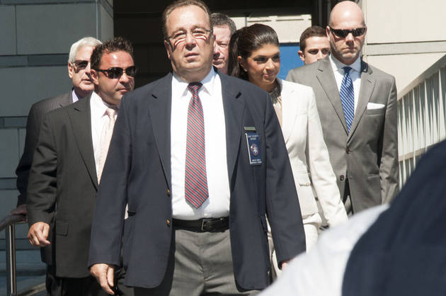 Teresa and Joe Giudice Leave Court After Fraud Hearing, Refuse to Talk to Reporters (VIDEO)