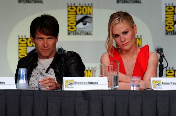 """True Blood Cast Gets Cute at Comic-Con: """"This Is Who We Do It For"""" (VIDEO)"""