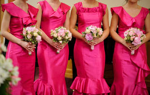 Dance Teacher Bride Has a Whopping 80 Bridesmaids at Wedding