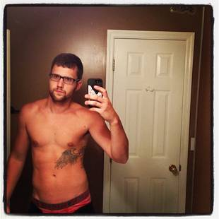 Ryan Edwards Posts Shirtless Selfie With Sexy Nerd Glasses! (PHOTO)