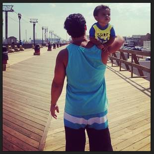 Snooki's Son Lorenzo Gets Adorable Ride From Dad Jionni (PHOTO)