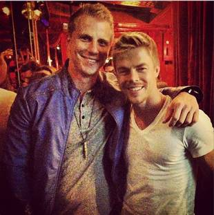 Dancing With the Stars' Derek Hough Reunites With Sean Lowe: Bromance Alert! (PHOTO)
