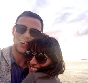 Lea Michele Camped at Kate Hudson's House After Cory Monteith Death — Report