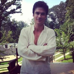 The Vampire Diaries Season 5: Ian Somerhalder in a Flashback Photo?