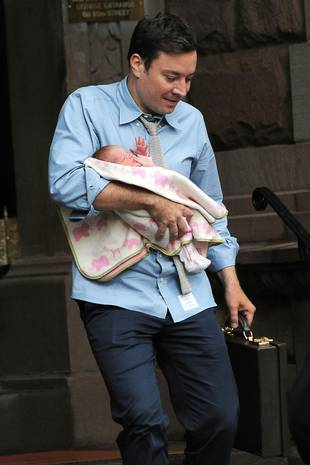 Jimmy Fallon and Wife Nancy Juvonen Welcome Daughter Winnie Via Surrogate