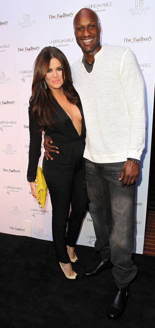 Lamar Odom Returns to Khloe Kardashian's House Looking Thin and Sick