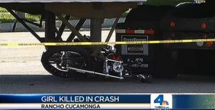 4-Year-Old Killed While Riding on the Back of a Motorcycle