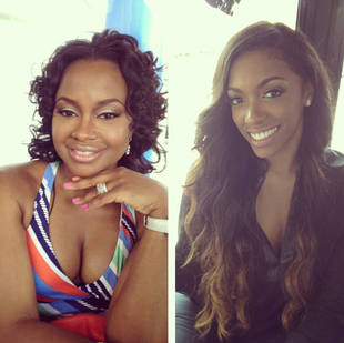 Kandi Burruss Hangs Out With Porsha Stewart and Phaedra Parks — Are They Filming?