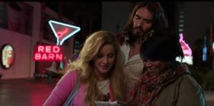 Julianne Hough Gets Sinful With Russell Brand in Paradise Trailer (VIDEO)