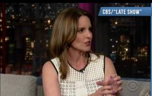 """Tina Fey Says Her Daughter Might be a """"Sociopath"""" on Letterman (VIDEO)"""