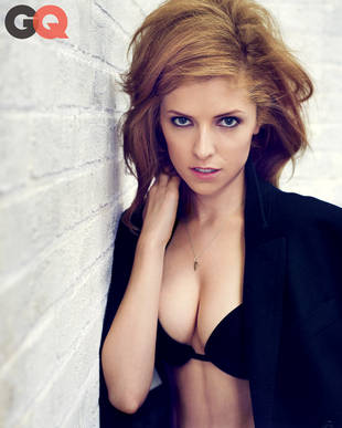Anna Kendrick Topless in GQ, Highly Recommends Drinking on a First Date