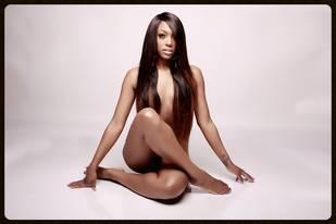 Porsha Stewart Poses Naked in New Hairline Promo (PHOTO)