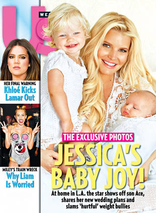Jessica Simpson Shows Off 2-Month-Old Son Ace (UPDATE)