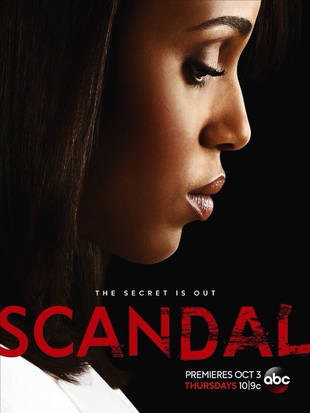 Scandal Season 3 Poster: The Secrets Are Out and Olivia Pope Has to Deal (PHOTO)