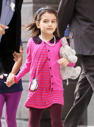 Suri Cruise Breaks Her Arm But Is Doing 'Okay'