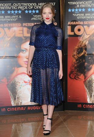 Amanda Seyfried Goes See-Through For Lovelace Premiere: Hot or Not? (PHOTO)