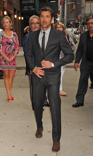 Grey's Anatomy's Patrick Dempsey Gets Sexy in NYC: Dapper Doc! (PHOTO)