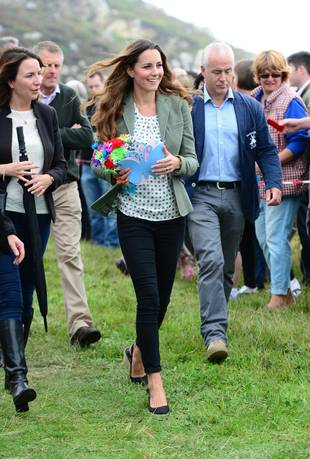 Kate Middleton Attends First Post-Baby Event — 2 Weeks Early! (PHOTOS)