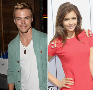 Dancing With the Stars' Derek Hough Dances With Nina Dobrev at Lollapalooza (VIDEO)