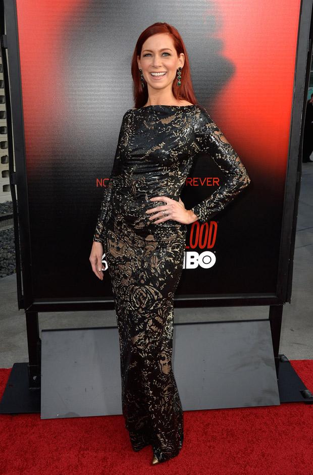 True Blood Season 6 Finale Deaths: Carrie Preston's Lips Are Sealed, But She's Happy to Talk Emmy Nom!