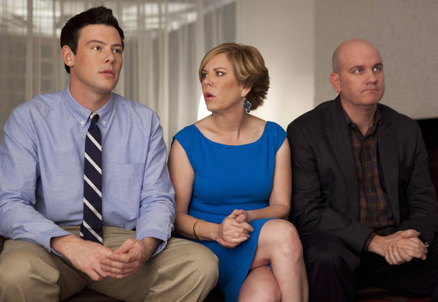 Cory Monteith Tribute: Finn's Mom and Stepdad Return to Mourn His Death