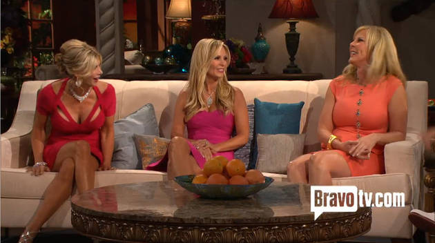 Real Housewives of Orange County: Behind the Scenes at the Crazy Reunion (VIDEO)