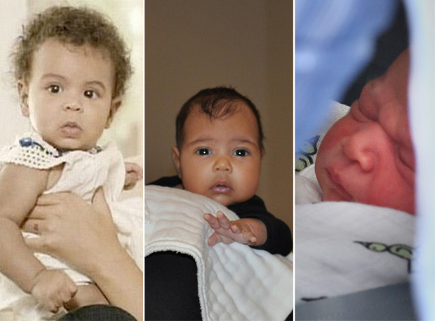 North West, Blue Ivy, or Prince George:  Who is Your Favorite Celeb Baby? (POLL)