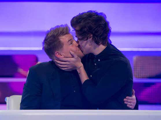 One Direction's Harry Styles Kisses A Dude — And Likes It?