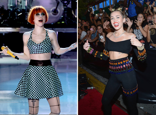 "Miley Cyrus Racially-Charged VMAs Made Hayley Williams ""Uncomfortable"""