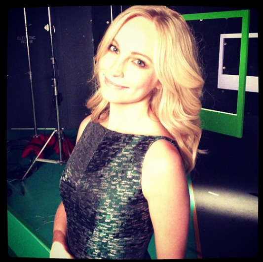 Vampire Diaries' Candice Accola Shares Sentimental Moments From Season 4