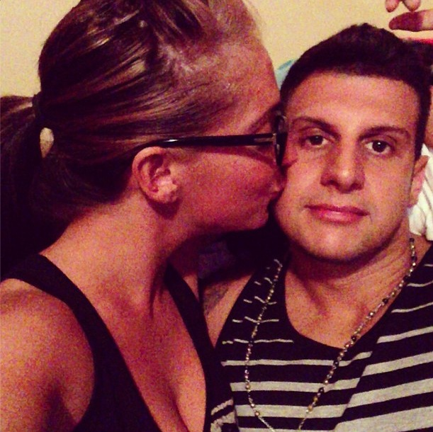 Angelina Pivarnick and Boyfriend Anthony Share Intimate Moment (PHOTO)